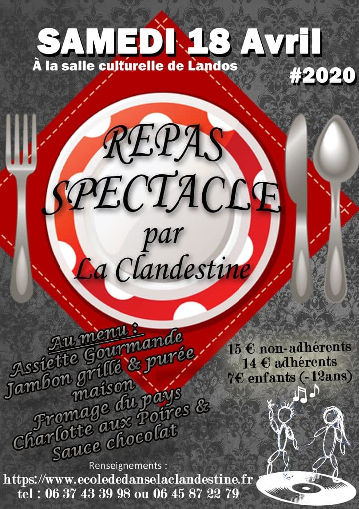 Repas spectacle 2020